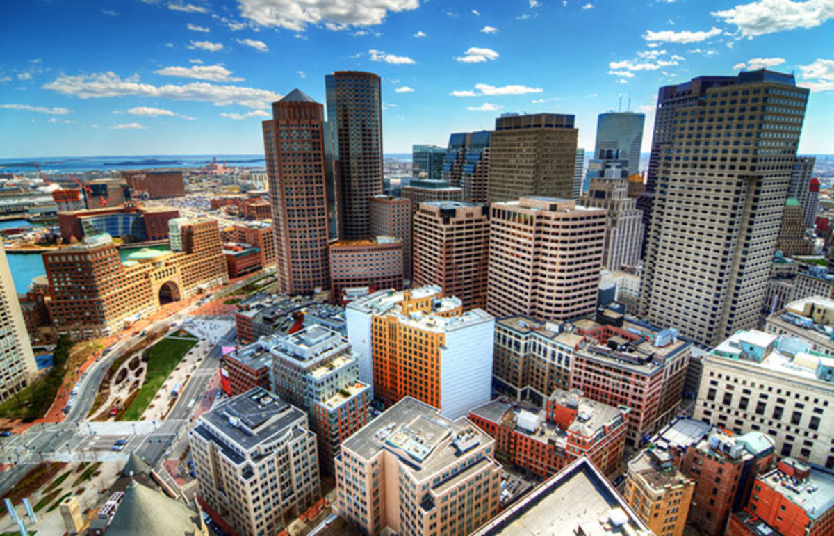 Downtown Boston, Massachusetts. (Photo: Sean Pavone/Shutterstock)