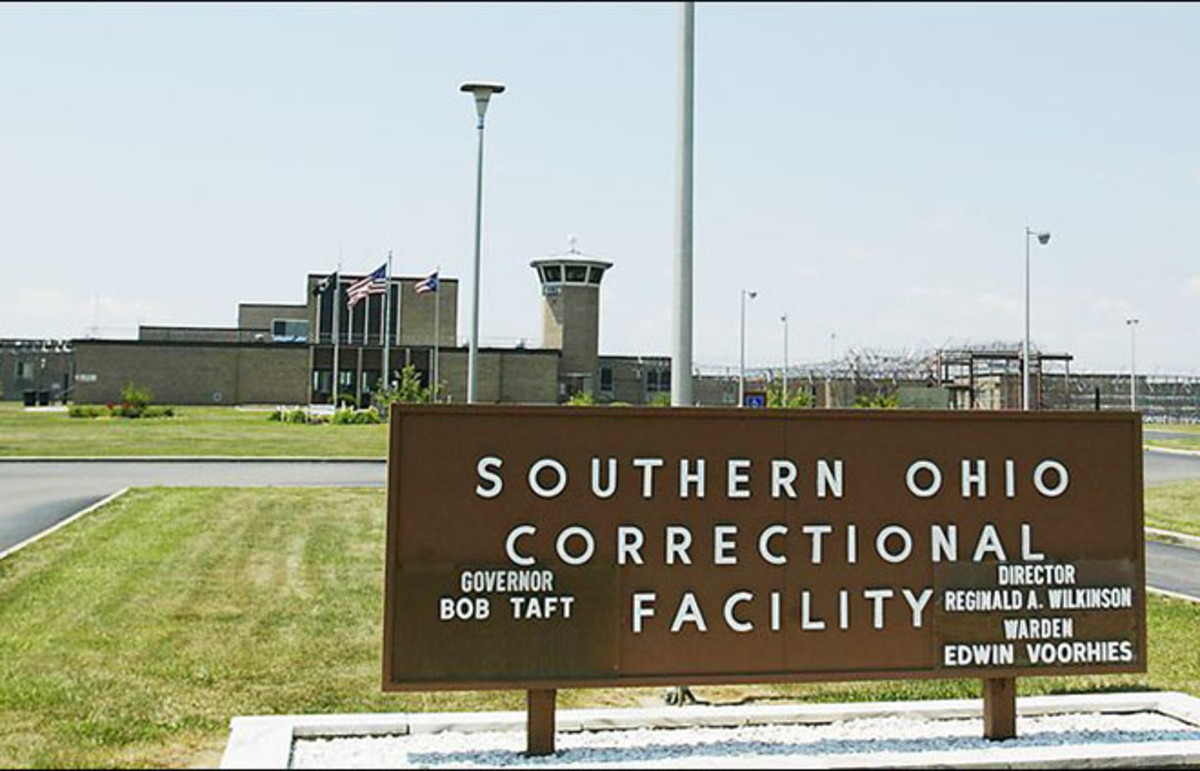 THe Southern Ohio Correctional Facility, where lethal injections are performed in the state. (Photo: American Prison System)