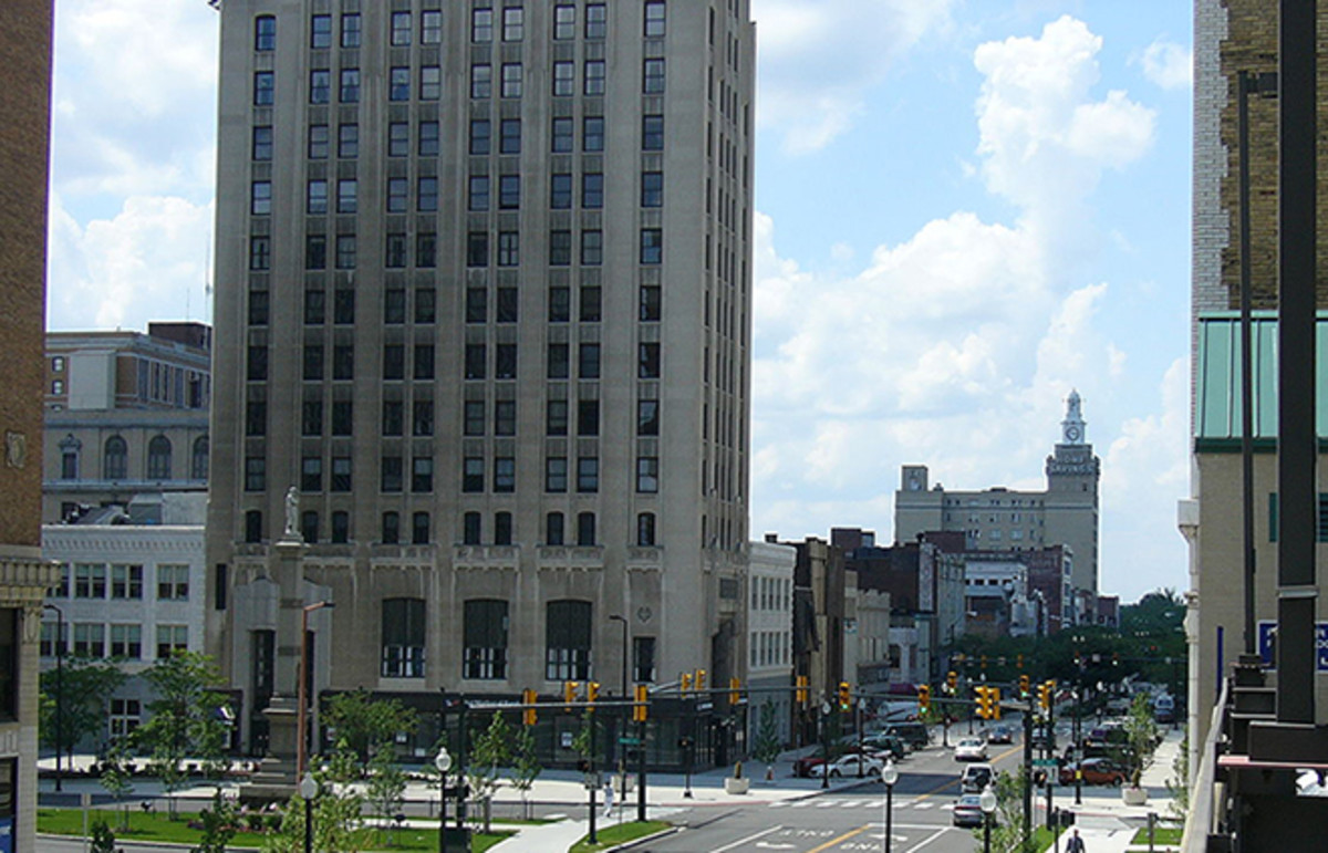 Youngstown, Ohio's Central Square. (Photo: Blue80/Wikimedia Commons)