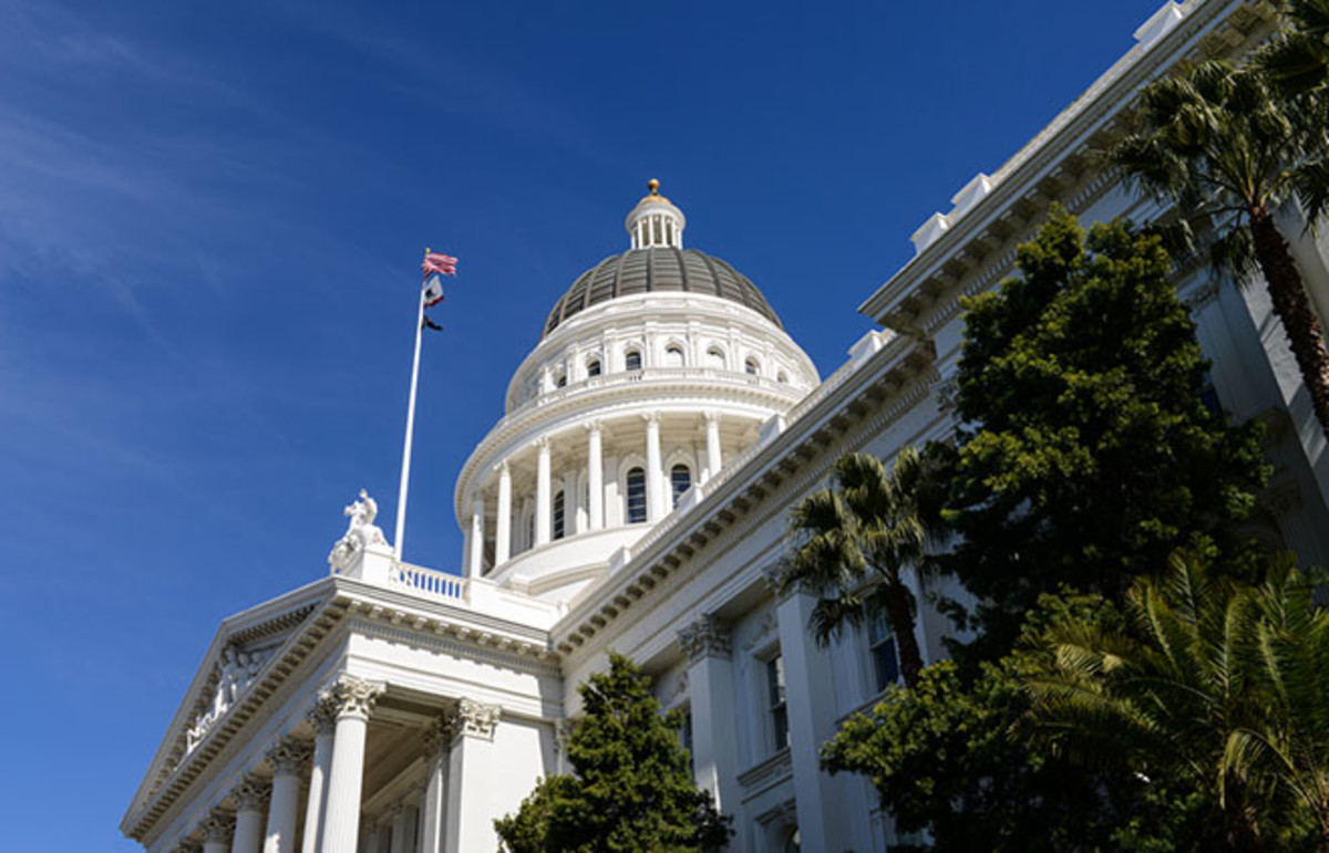 California State Capitol in Sacramento. (Photo: Brandon Bourdages/Shutterstock)