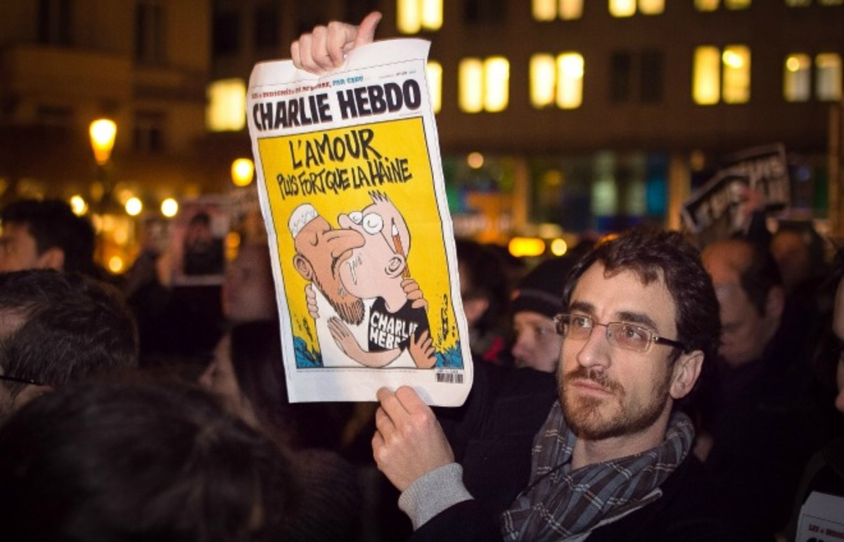 A French rally after Wednesday's attack on the offices of Charlie Hebdo. (Photo: Valentina Calà/Flickr)