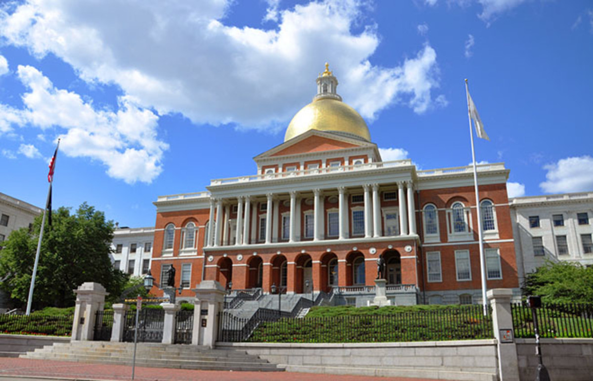 Massachusetts State House. (Photo: jiawangkun/Shutterstock)