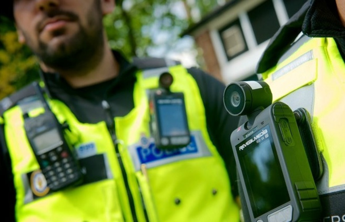 Might American police officers start wearing body-cameras? (Photo: westmidlandspolice/Flickr)