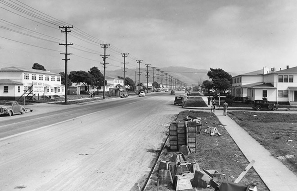 Housing construction in Richmond, California, in 1943. (Photo: U.S. National Archives and Records Administration/Public Domain)