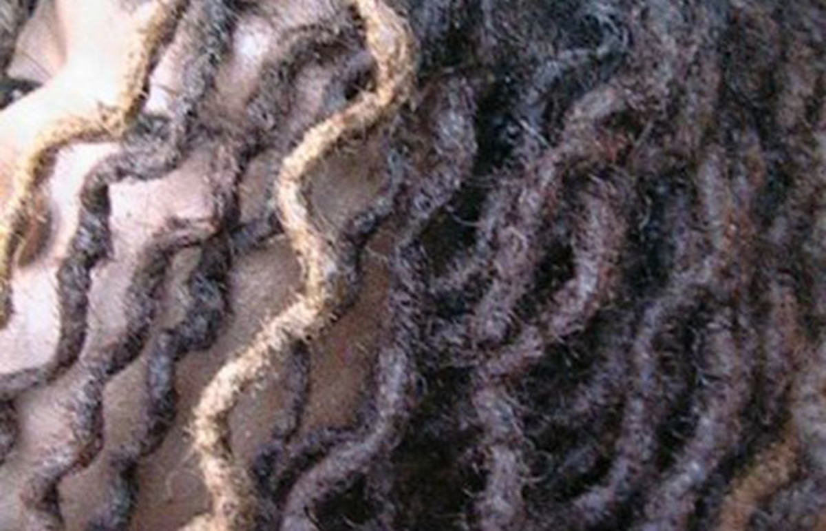 Salon dreadlocks created with two-strand twists. (Photo: Veroniqueakin/Wikimedia Commons)
