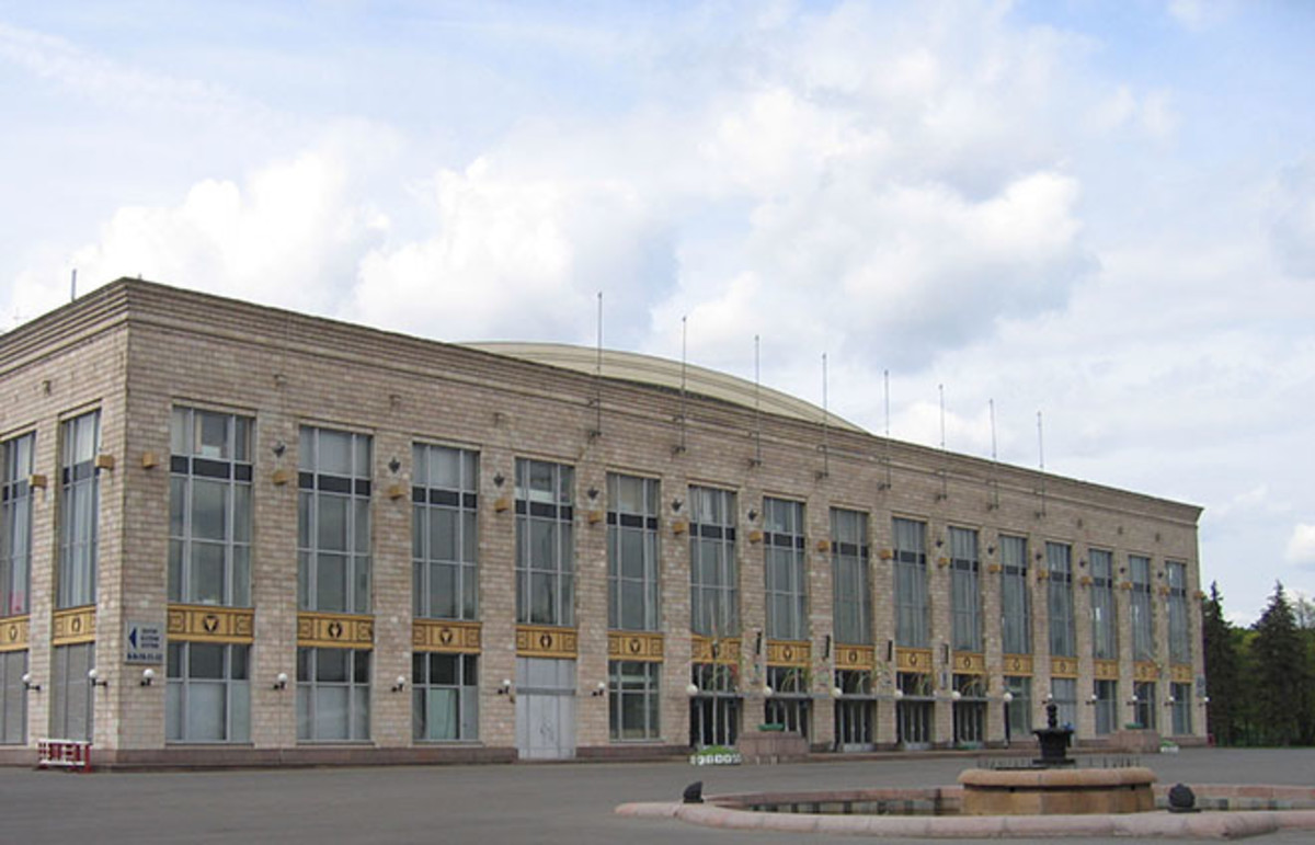 The Luzhniki Palace of Sports of the Central Lenin Stadium as it appears today. (Photo: A.Savin/Wikimedia Commons)