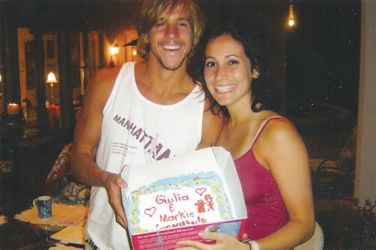 The week Mark and Giulia got engaged, when they were both 23 years old. (Photo: Courtesy of Mark Lukach)