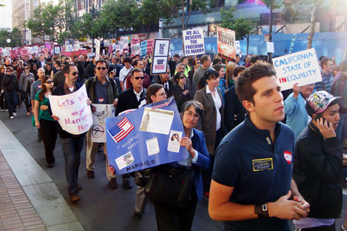 Rally for same-sex marriage in San Francisco, California. (PHOTO: STAFFORDVAUGHAN/WIKIMEDIA COMMONS)