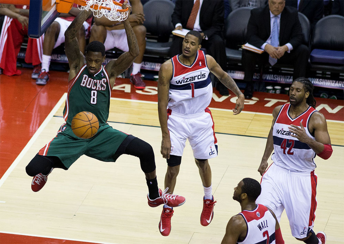 Milwaukee Bucks at Washington Wizards March 13, 2013. (Photo: Keith Allison/Flickr)