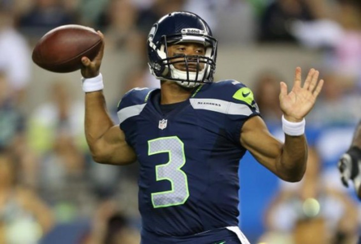 Seattle Seahawks quarterback Russell Wilson. (Photo: vivi1867/Flickr)