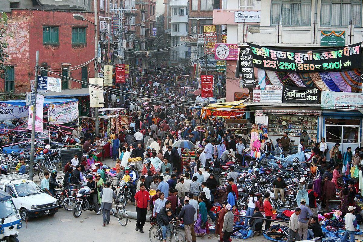 Street in Kathmandu, Nepal. (Photo: Pavel Novak/Wikimedia Commons)