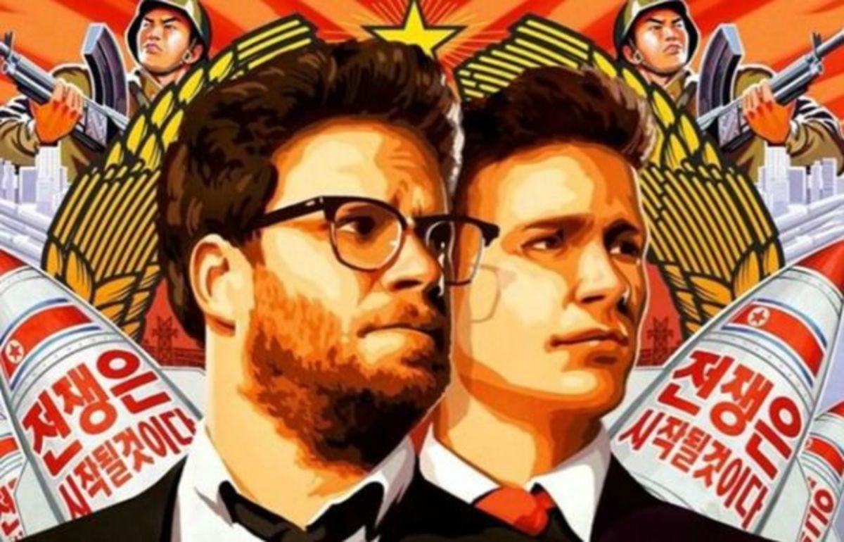 The Interview promotional poster. (Photo: Columbia Pictures)