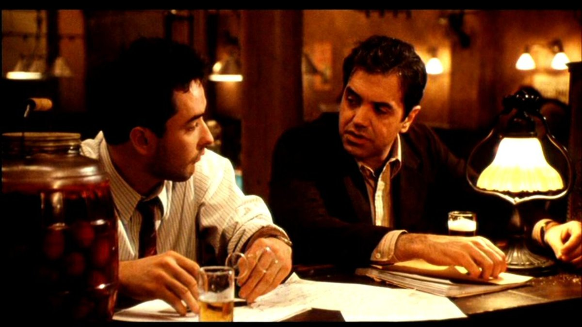 John Cusack (left) in Bullets Over Broadway. (Photo: Miramax Films)