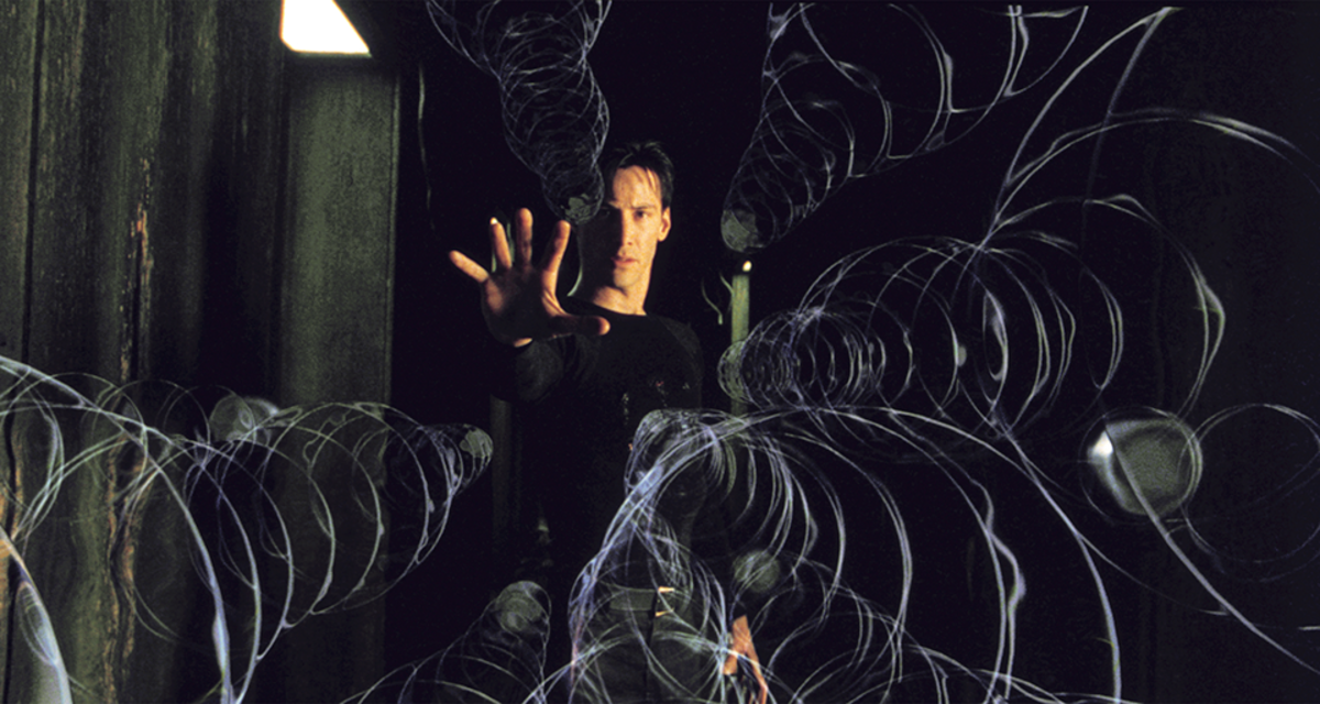 Keanu Reeves plays Neo in The Matrix. (Photo: Warner Bros.)