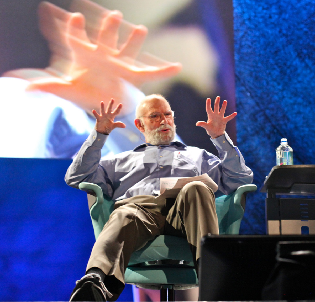 Oliver Sacks in 2009. (Photo: Steve Jurvetson/Flickr)