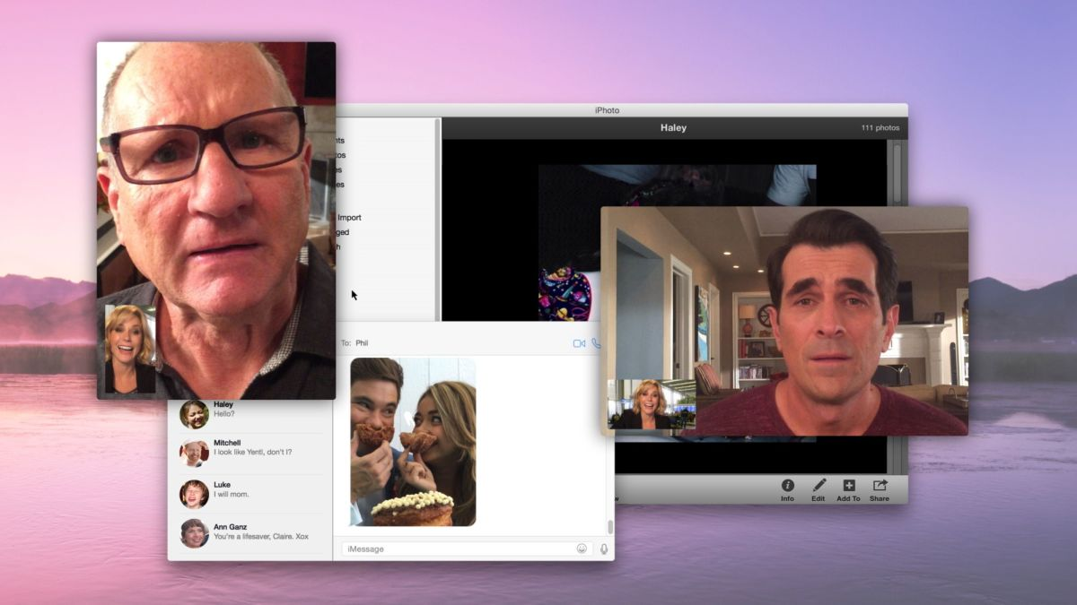 A scene from the February 25 episode of Modern Family. (Photo: 20th Century Fox Television)