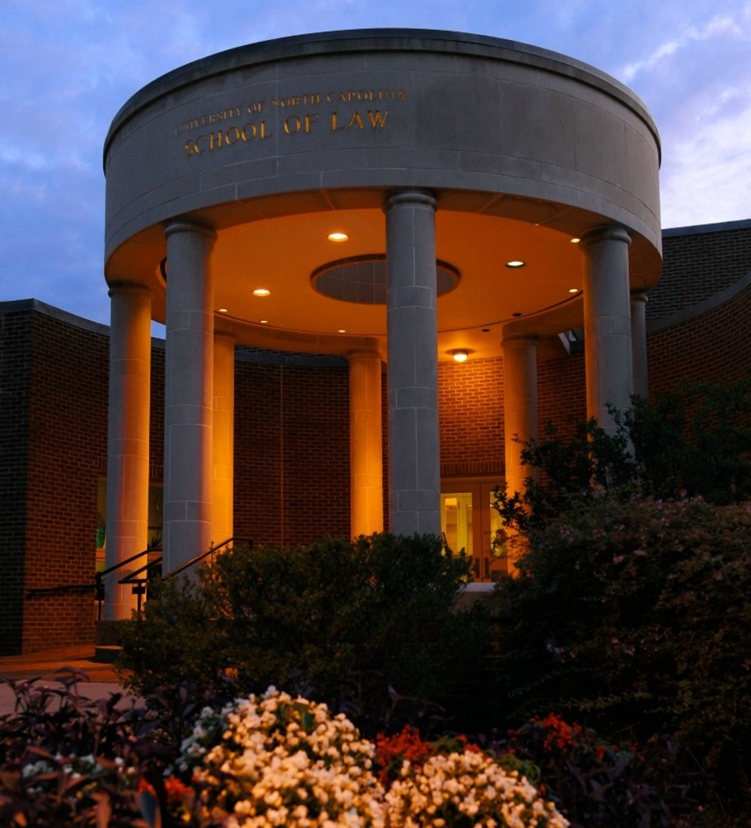 The Van Hecke-Wettach Building at the UNC School of Law. (Photo: Donn Young/UNC)