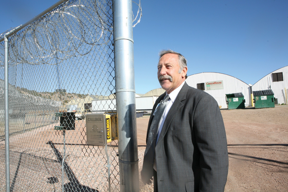 FARM TO TABLE: Steve Smith has managed CCI, which spans 500 acres encompassing several prisons in Canon City, for the past seven years. The work projects earn about $63 million a year. (Photo: David Kidd)