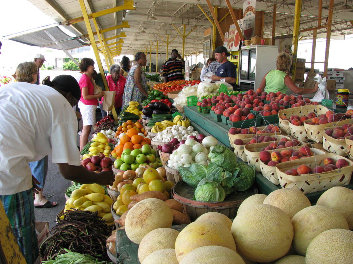 A market in Jackson, Mississippi. (Photo: NatalieMaynor/Flickr)
