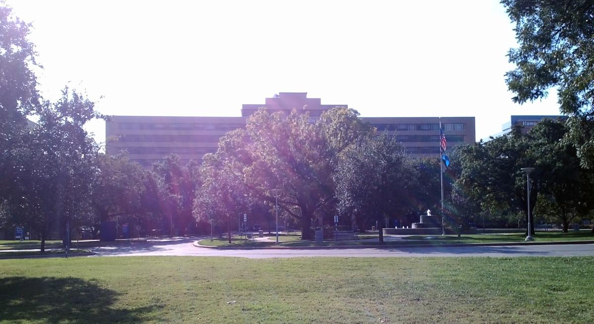 Texas Health Presbyterian Hospital. (Photo: Hasteur/Wikimedia Commons)