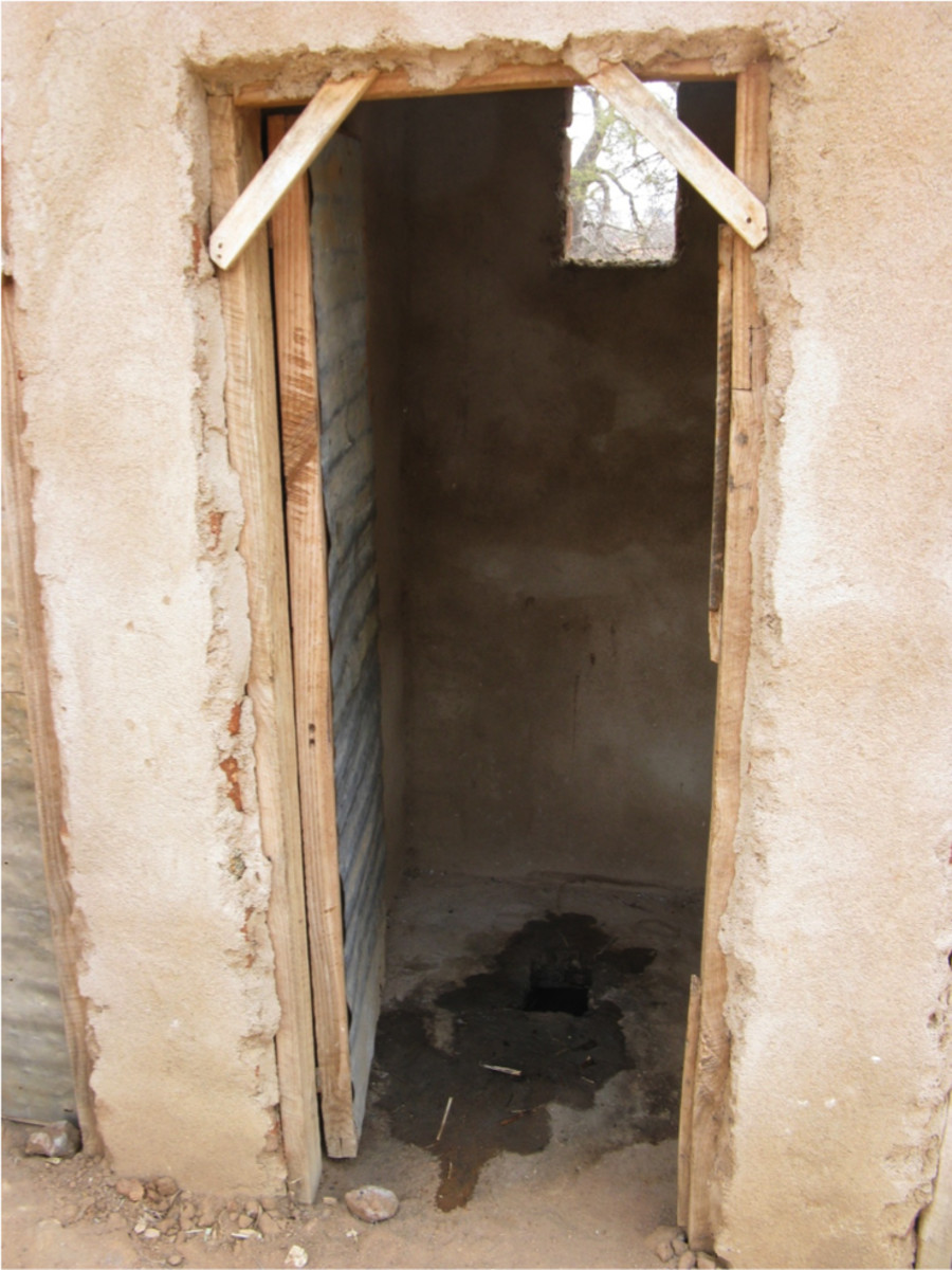 A latrine in Tanzania. (Photo: Marni Sommer)