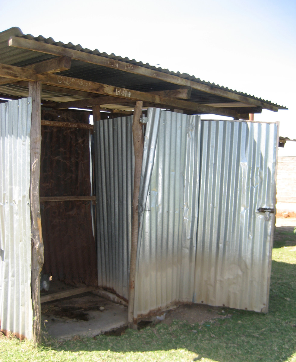 A latrine in Kenya. (Photo: Bethany Caruso)