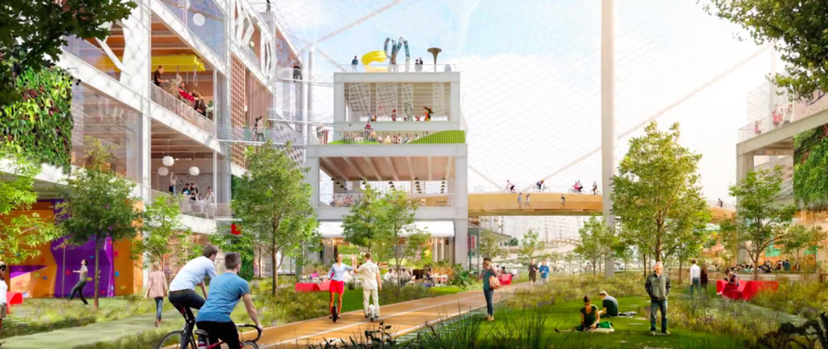 Google's campus concept. (Photo: Google)