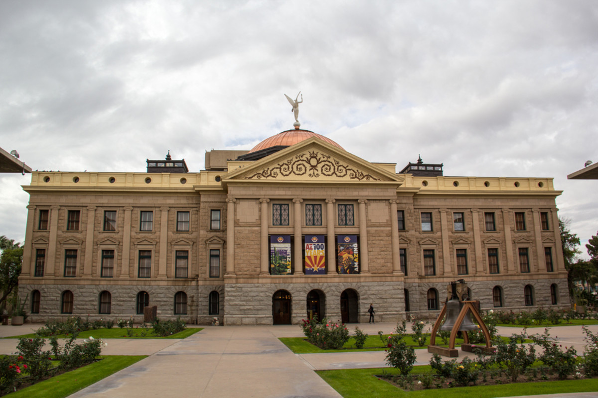 The Arizona State Capitol Museum. This was the last home for Arizona's territorial government, until Arizona became a state in 1912. (Photo: Sue Stokes/Shutterstock)