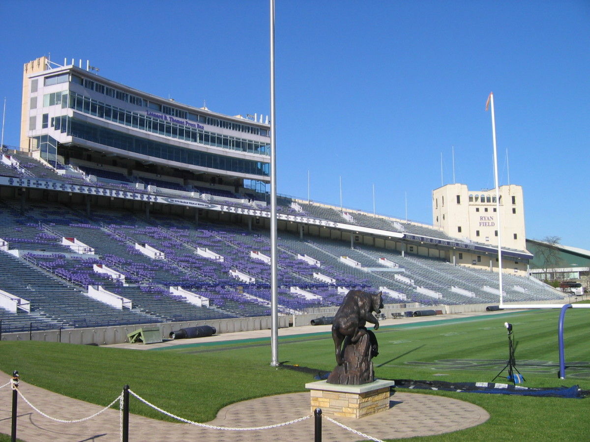 Northwestern University's Ryan Field. (Photo: Greenstrat/Wikimedia Commons)