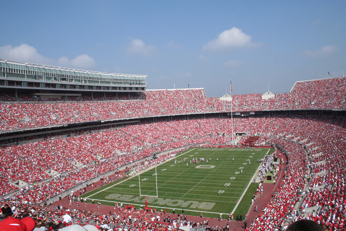 Game day at Ohio State University. (Photo: aceshot1/Shutterstock)