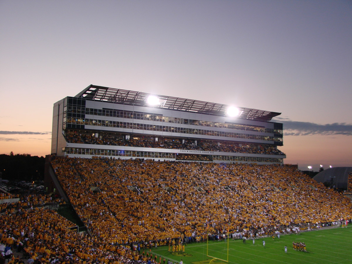 The University of Iowa's Kinnick Stadium. (Photo: SolonHawk/Wikimedia Commons)