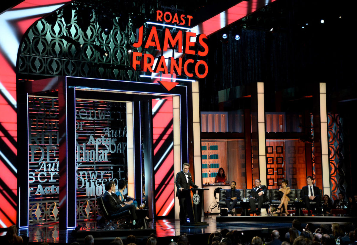 Comedian Seth Rogen hosts the Comedy Central Roast of James Franco. (Photo: Lester Cohen/WIREIMAGE)