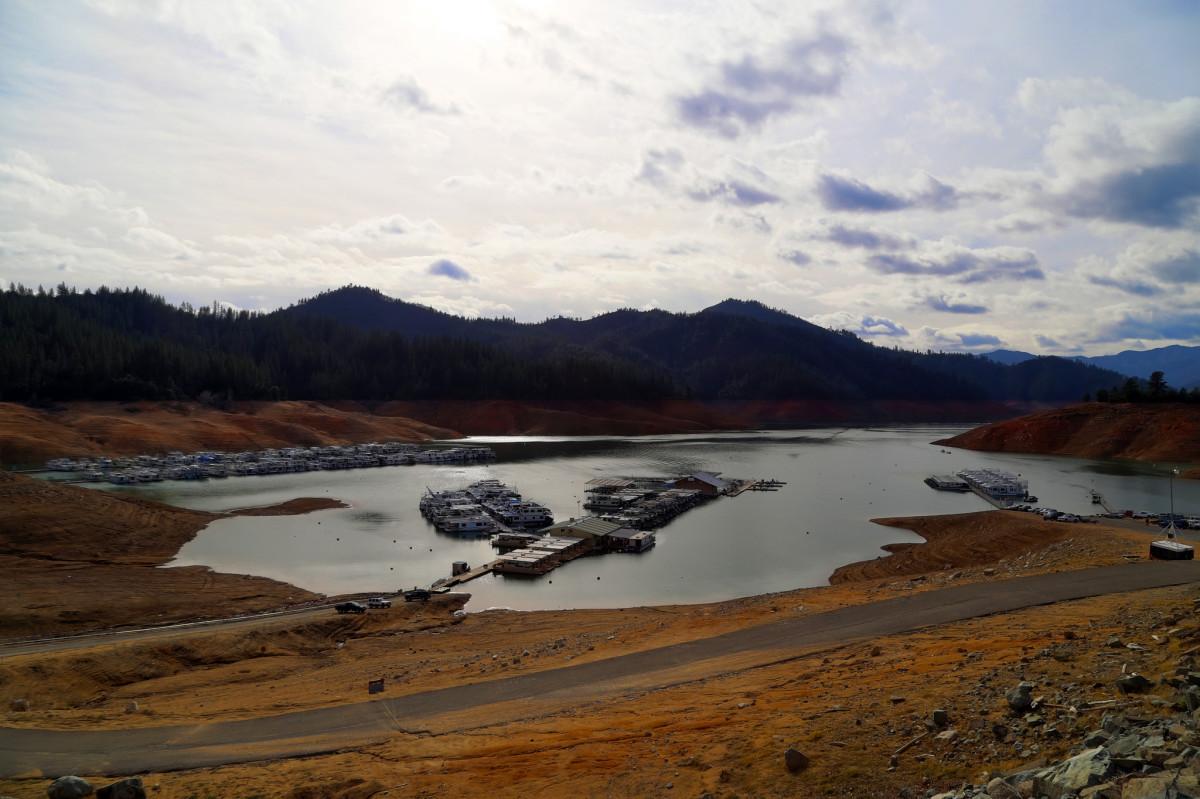 Shasta Lake, located in Shasta County, California. (Photo: torroid/Flickr)