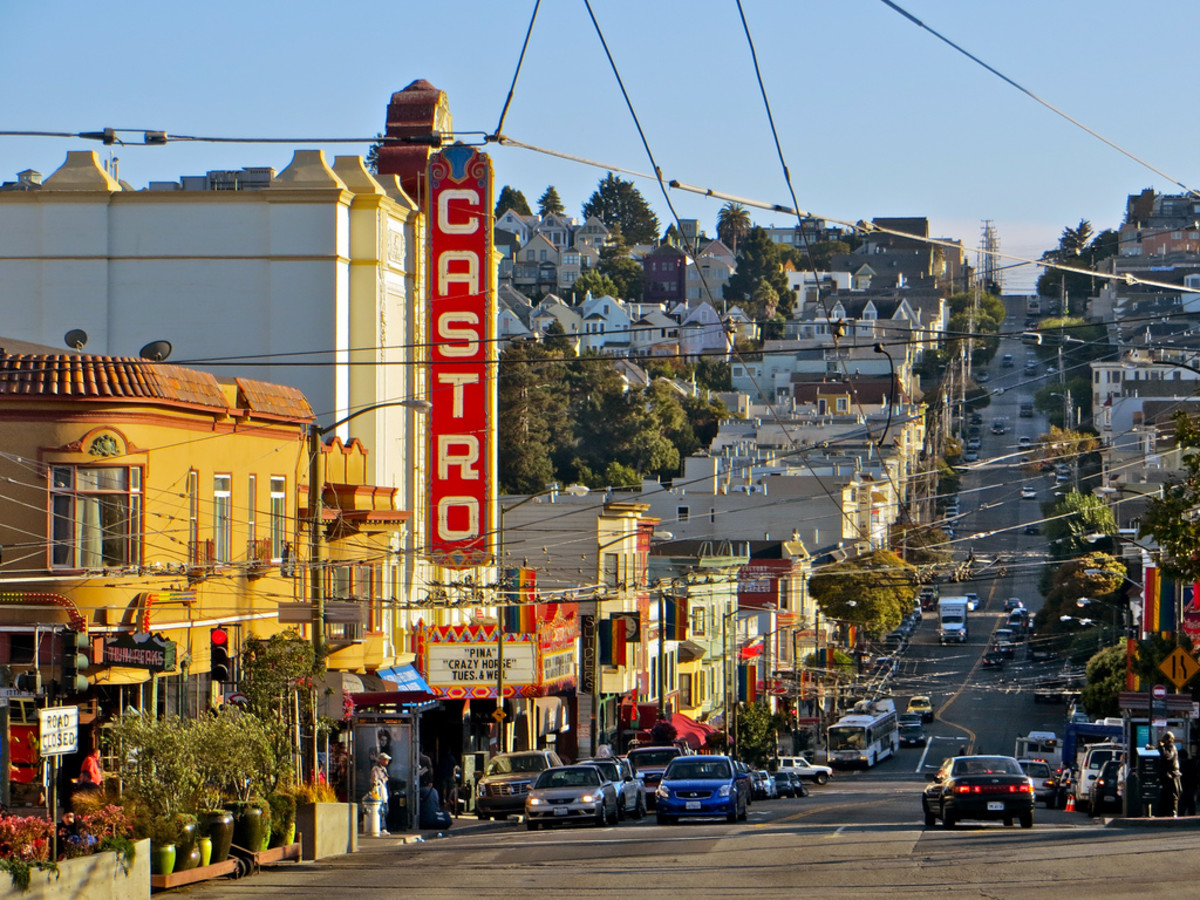 San Francisco's Castro District. (Photo: torbakhopper/Flickr)