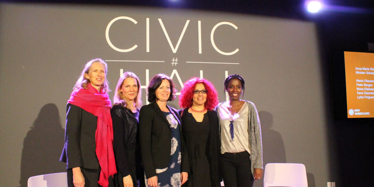 The panelists at a recent New American NYC event. (Photo: New America)