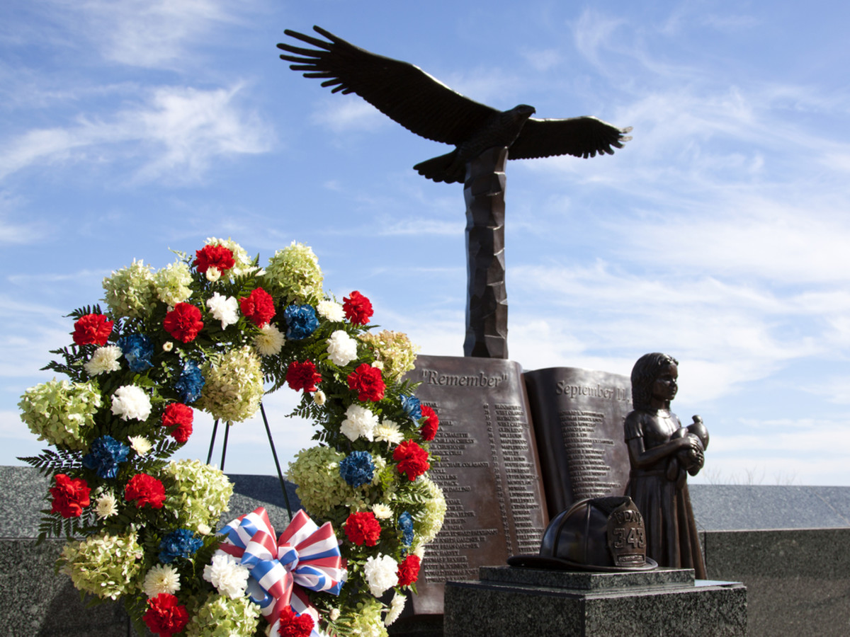 A September 11th memorial in West Orange, New Jersey. (Photo: Glynnis Jones/Shutterstock)