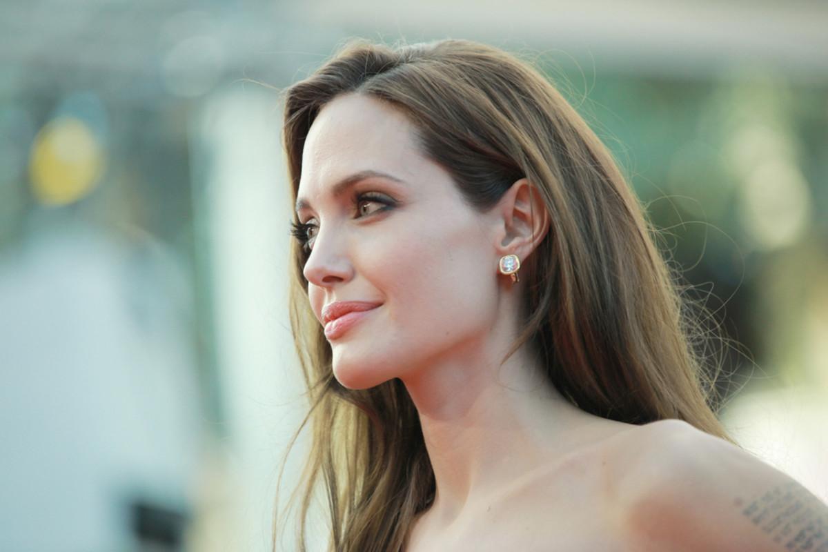 Angelina Jolie. (Photo: PAN Photo Agency/Shutterstock)