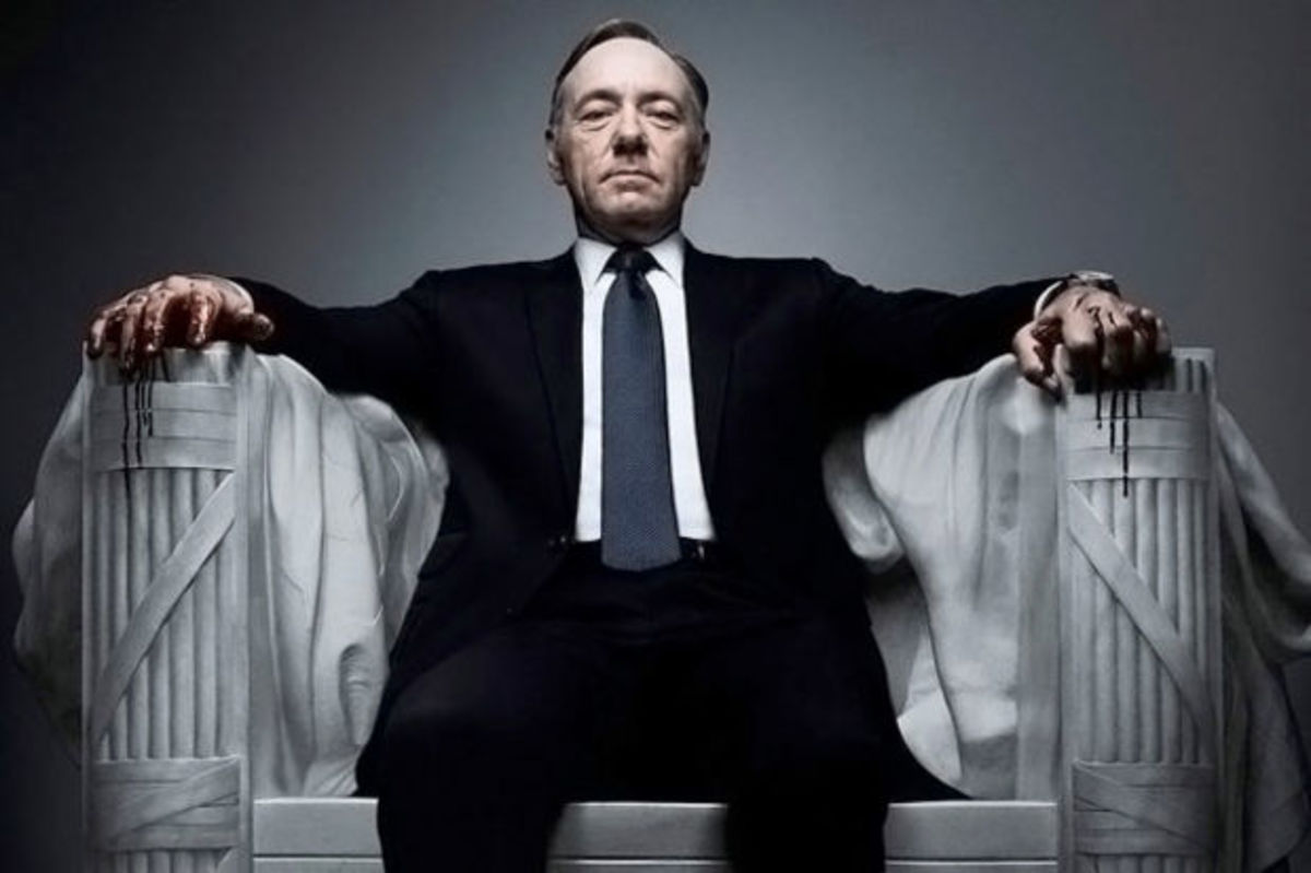Kevin Spacey plays Frank Underwood on House of Cards. (Photo: Netflix)