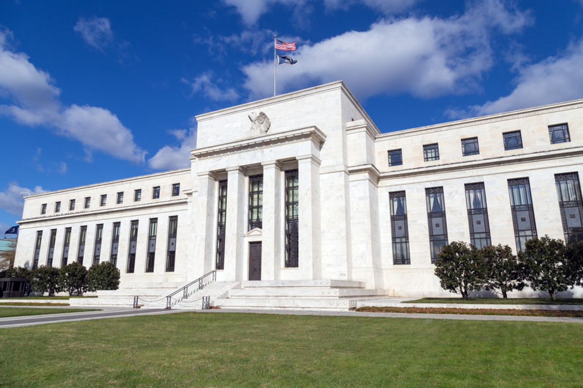 The Federal Reserve building in Washington, D.C. (Photo: Adam Parent/Shutterstock)