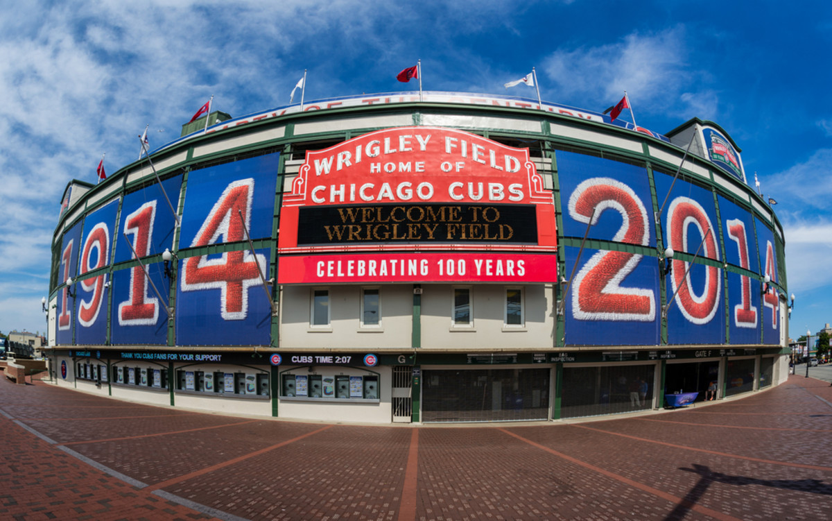 Wrigley Field, home to the Chicago Cubs. (Photo: Nagel Photography/Shutterstock)