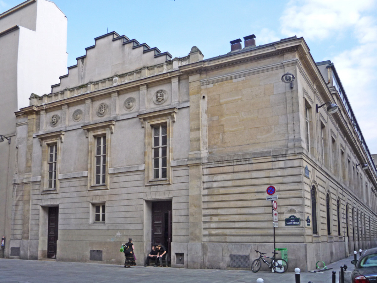 Part of the Paris Conservatoire, where Georges Bizet studied from 1848 to 1857. (Photo: Public Domain)