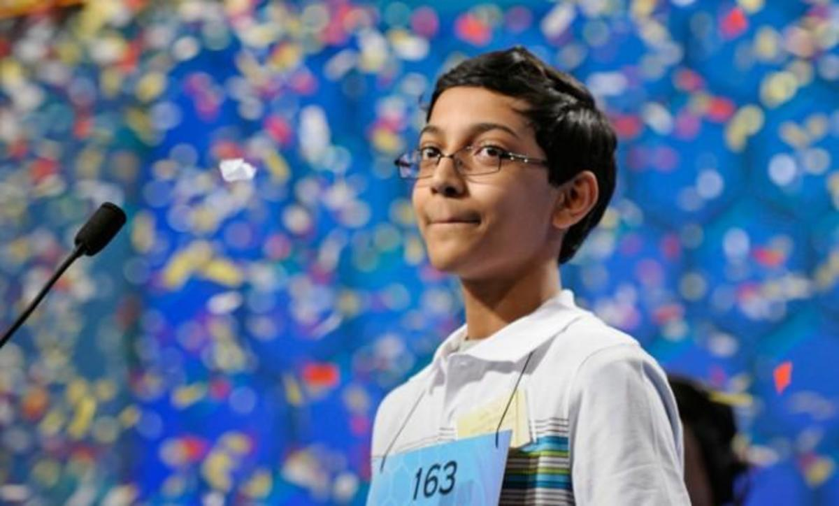 Arvind Mahankali won the 2013 Scripps National Spelling Bee with a word that basically means matzo ball. (Photo: Yahoo! News)