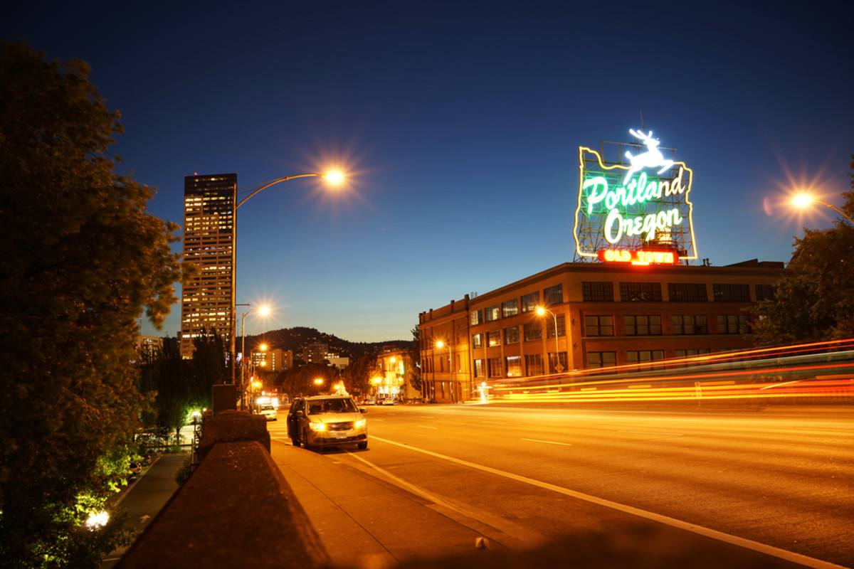Downtown Portland, Oregon. (Photo: August_0802/Shutterstock)