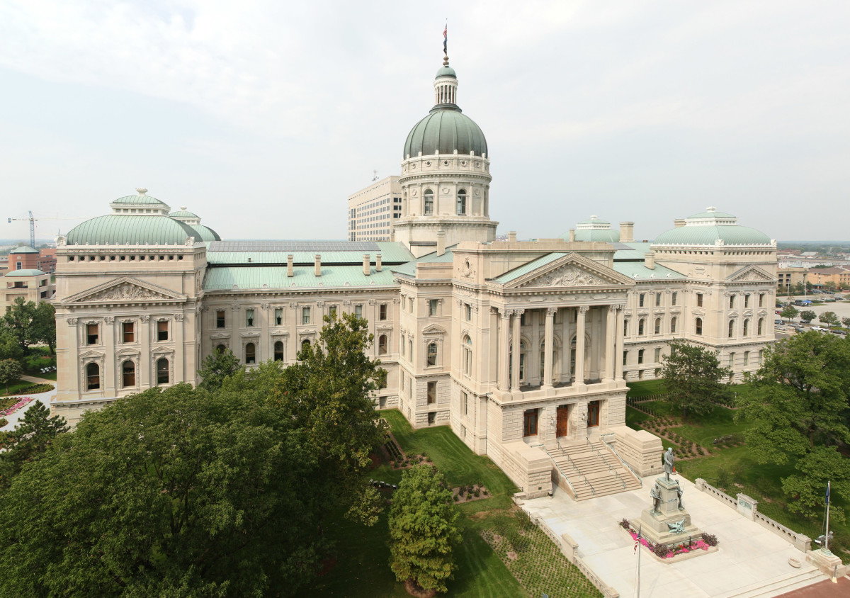 Indiana State Capitol in Indianapolis. (Photo: Massimo Catarinella/Wikimedia Commons)