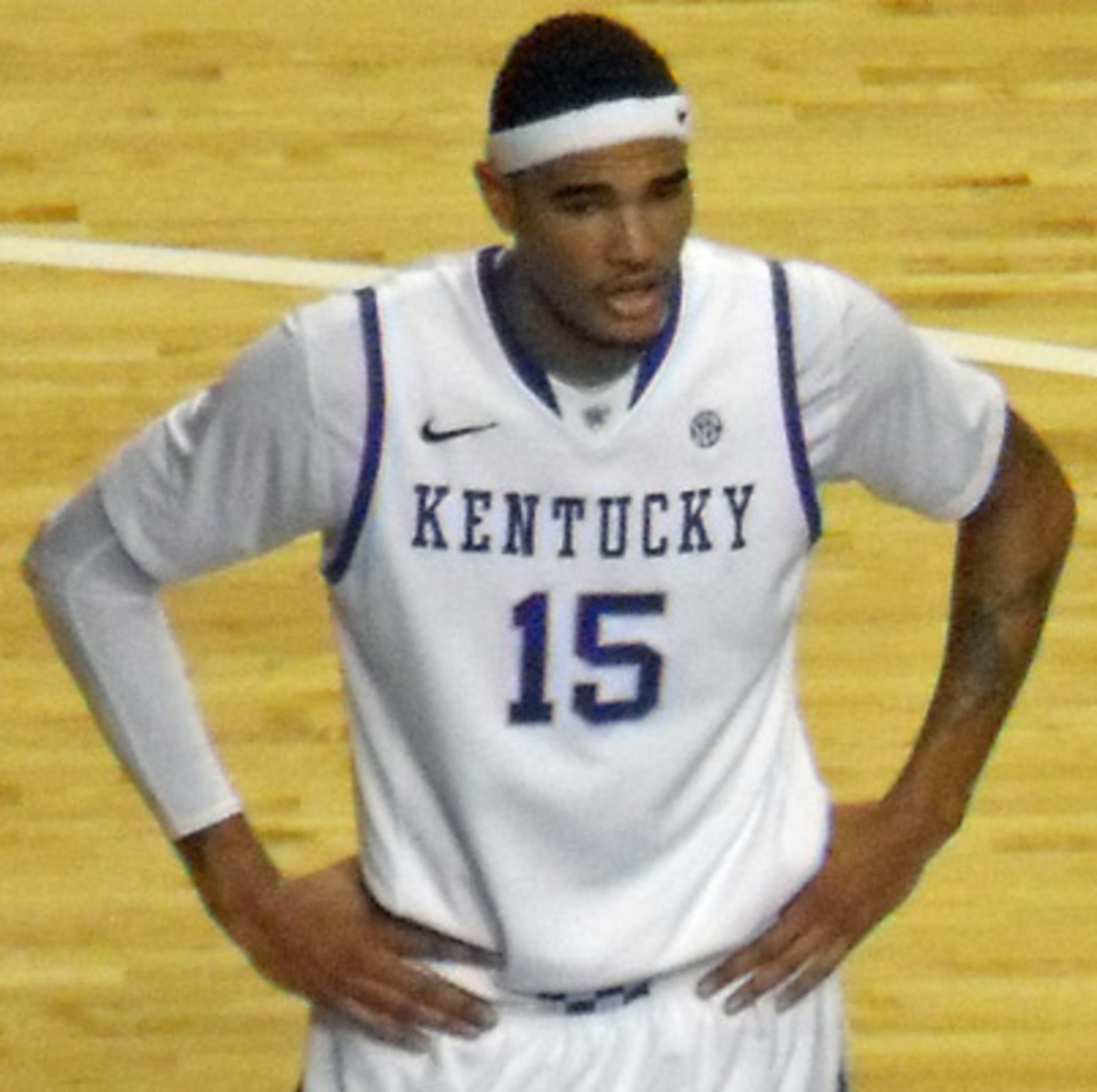 Willie Cauley-Stein in 2012. (Photo: Acdixon/Wikimedia Commons)