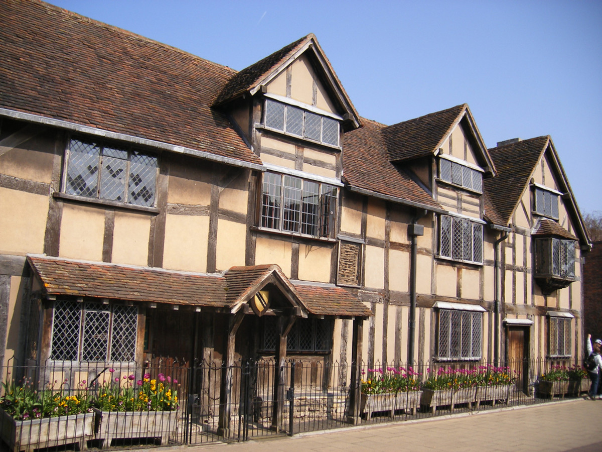 William Shakespeare's birthplace. (Photo: Elliott Brown/Flickr)
