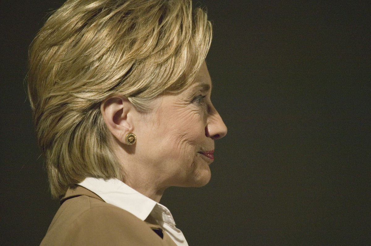 Hillary Clinton. (Photo: Joseph Sohm/Shutterstock)