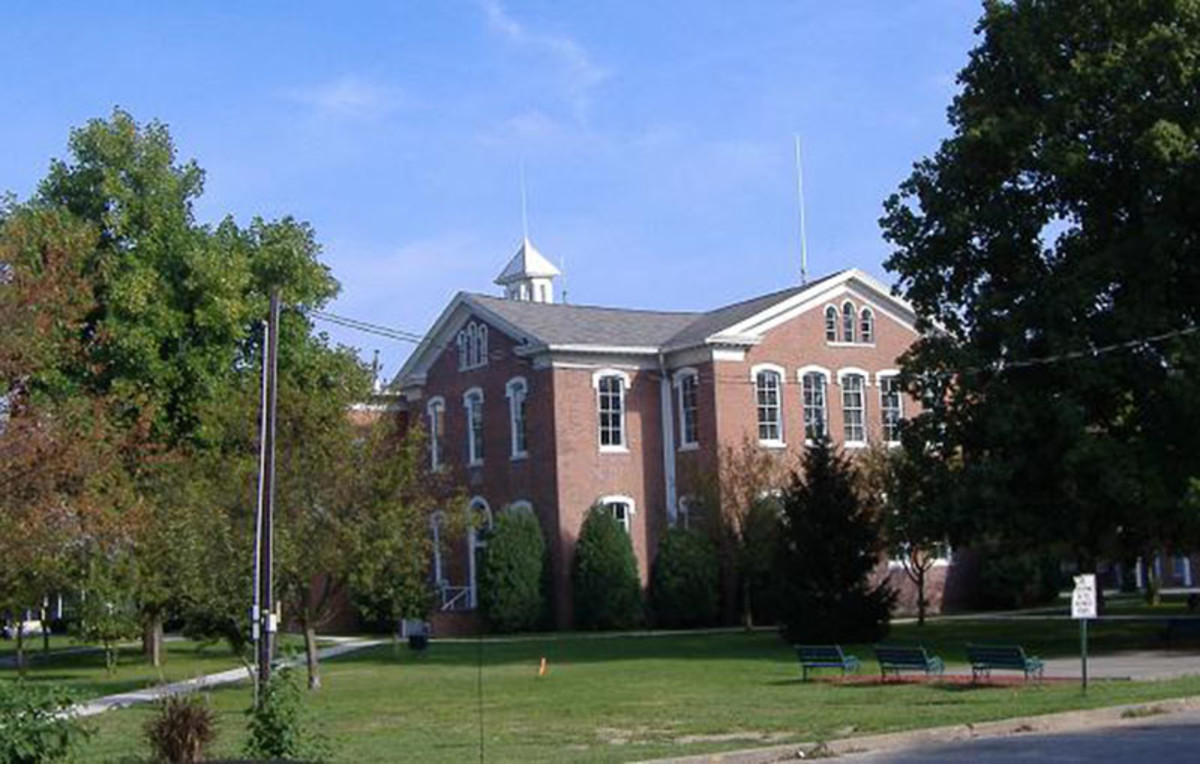 Scott County Courthouse in Scottsburg, Indiana. (Photo: Bedford/Wikimedia Commons)