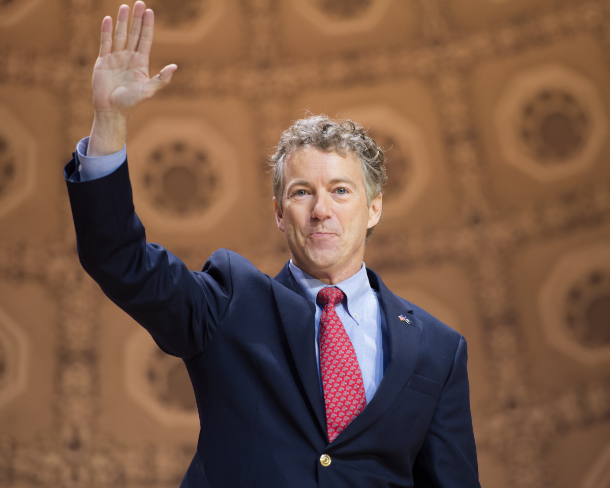 Senator Rand Paul. (Photo: Christopher Halloran/Shutterstock)