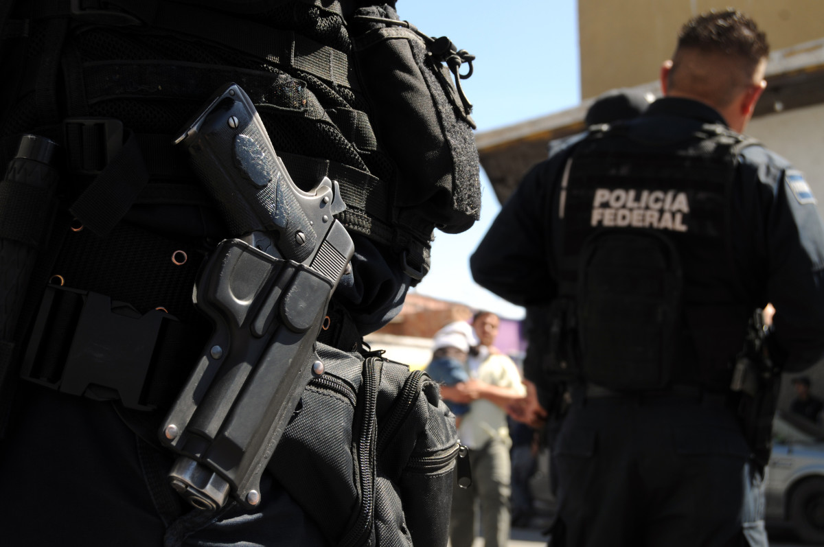 Mexican federal police forces in Ciudad Juárez. (Photo: Frontpage/Shutterstock)